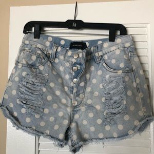 Minkpink Polka Dot Shorts